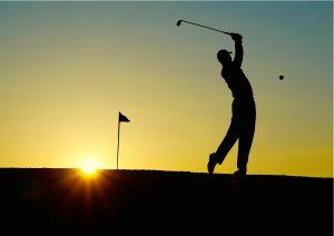 Liam Bond Golf at dusk