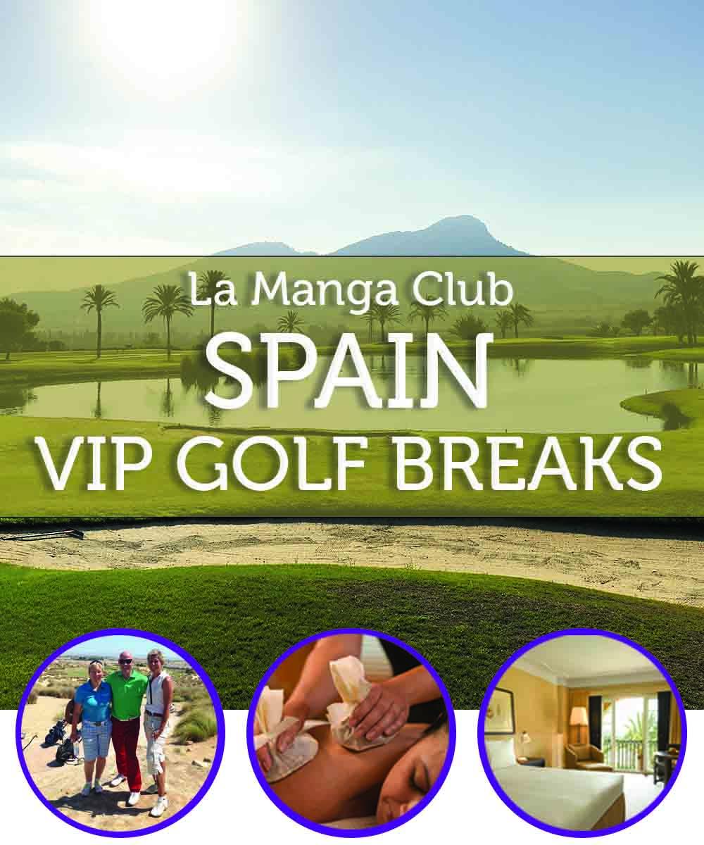 La Manga Club VIP Golf Break 100x200cm